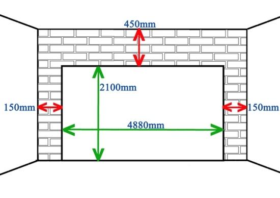 Garage Doors Sizes Minimum Double Garage Door Size Sc